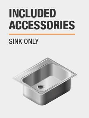 Sink Includes Sink Only