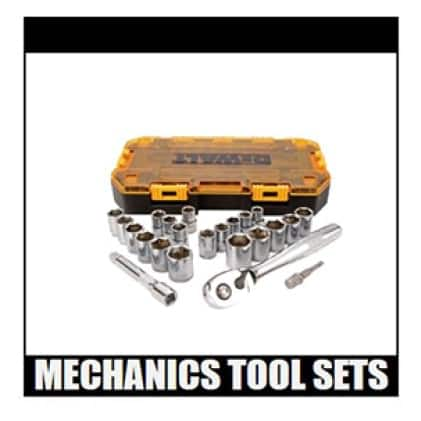 DWMT73813 1/2 in. Drive Combination Socket Set with Case (23-Piece)