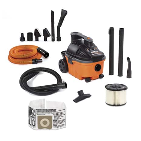 Includes 1-7/8 in. x 7 ft. Hose, 2 Extension Wands, Utility Nozzle, Car Nozzle, Standard Filter, Dust Bag, Premium Car Cleaning Kit