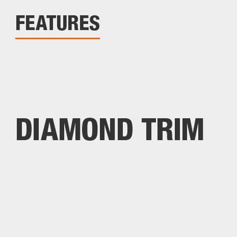 Nightstand with Diamond Trim