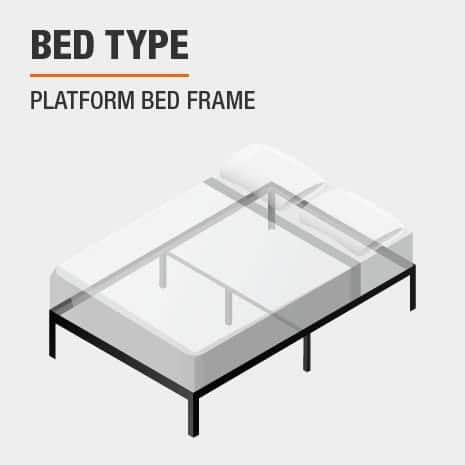 Bed Type of Platform Bed Frame