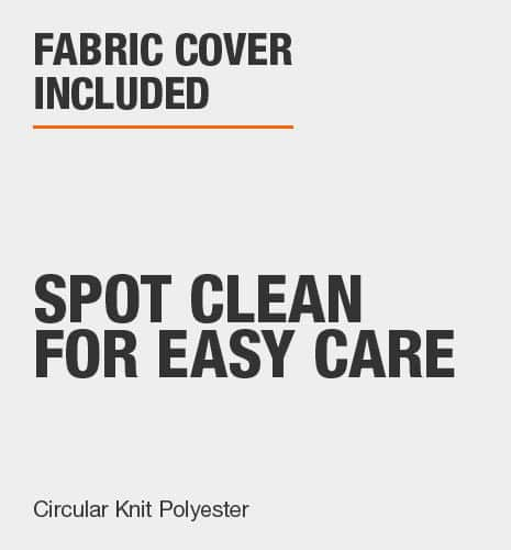 Fabric Cover Included
