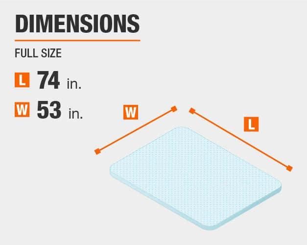 Mattress Topper Dimensions