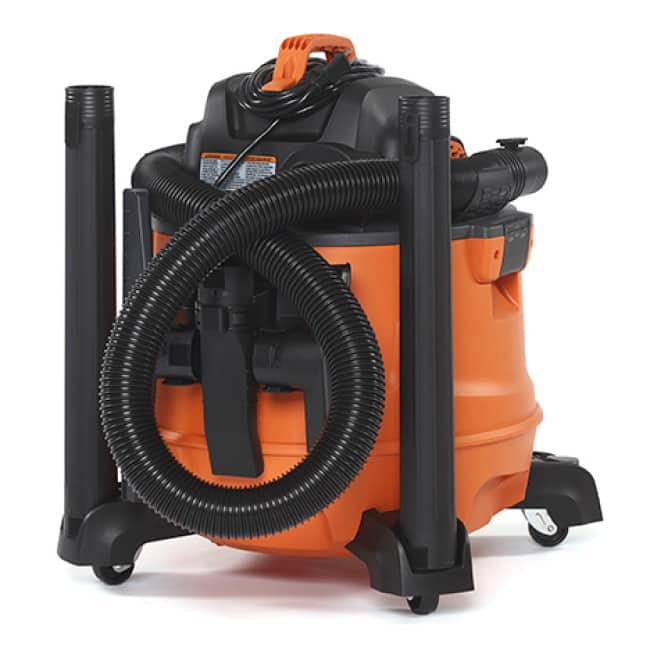 Wet/Dry Vac Accessory Storage