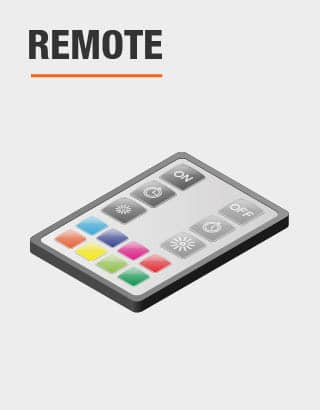 This product includes remote control