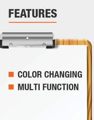 The features of the lights are color changing and multi function