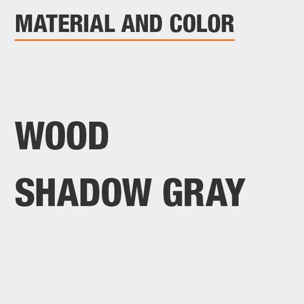 Shadow Gray Wood Vanity Table