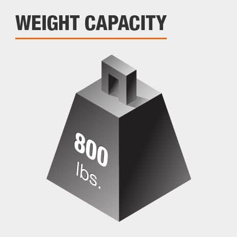 Full Bed Weight Capacity 800 lbs