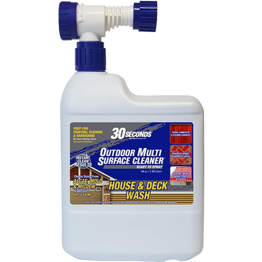 30 SECONDS Outdoor Multi Surface Cleaner Ready-To-Spray