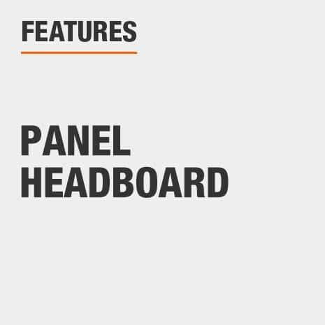 Full Headboard with Panel Headboard