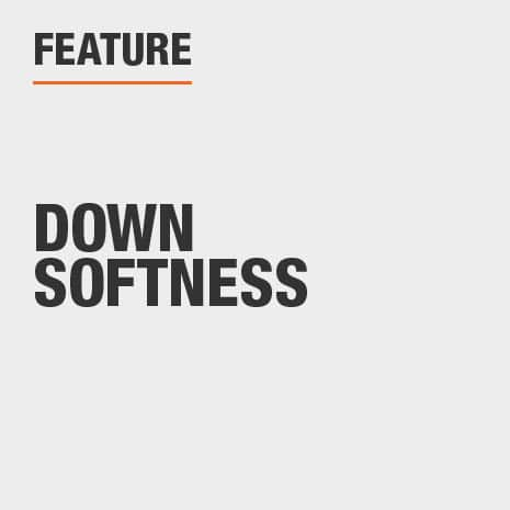 Features Down Softness