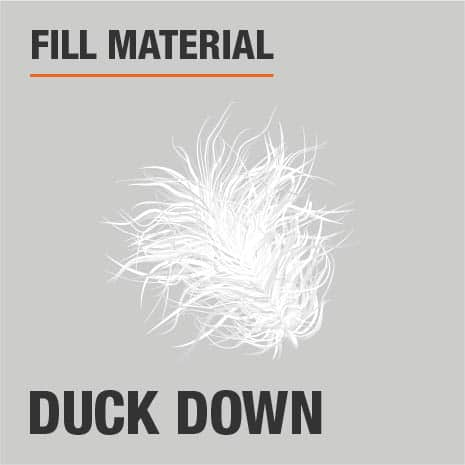Fill Material Duck Down