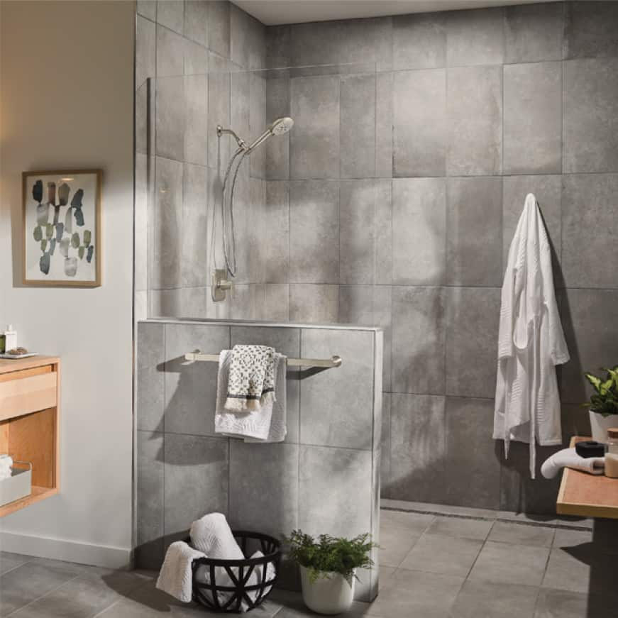 This collection works seamlessly with today's lifestyle and will be a perfect finishing touch in your bathroom.
