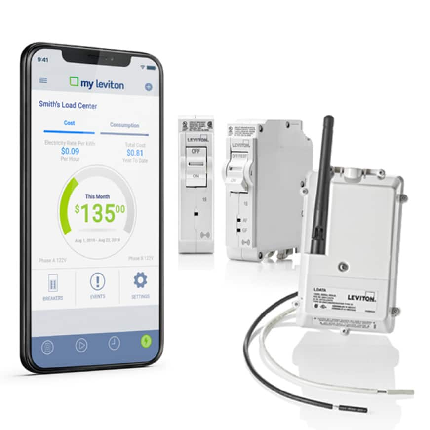 Manage energy consumption, trip breakers and update firmware from anywhere in the world