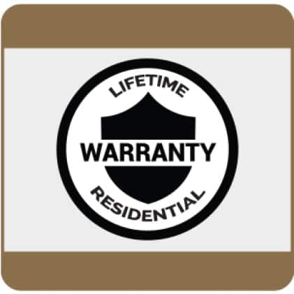 See details for Lifetime Residential Warranty
