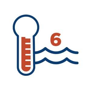6 Water Temperatures symbol