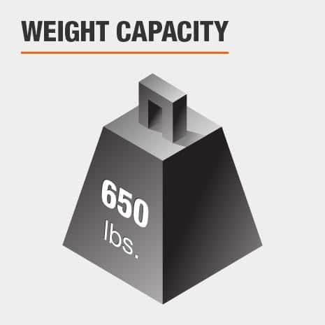Queen Bed Weight Capacity 650 lbs