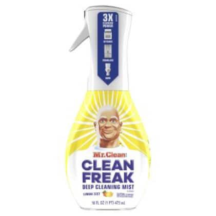 Mr. Clean Clean Freak mist in lemon scent