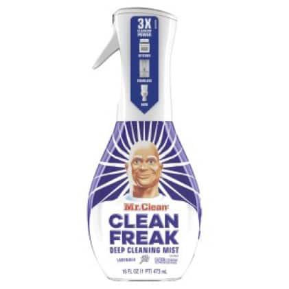 Mr. Clean clean freak in lavender scent