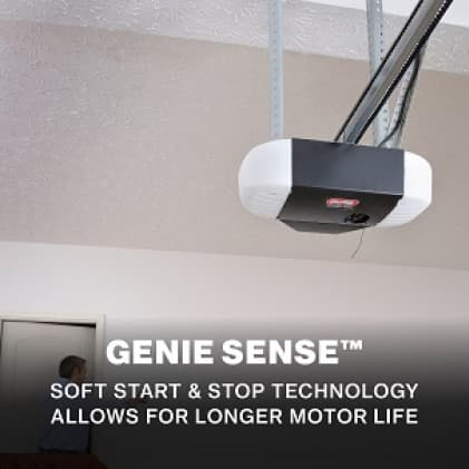 Genie ChainMax with Battery Backup Long lasting durable garage door openers