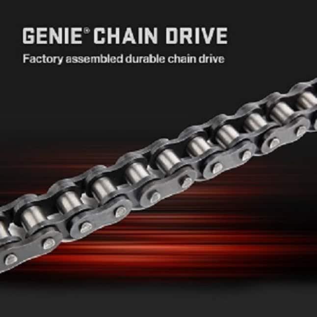 Genie ChainMax w/ Battery Backup - Genie Durable Chain Drive