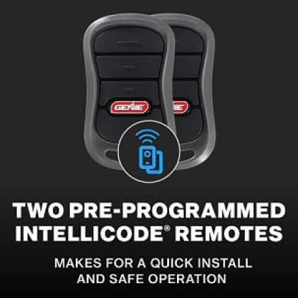Genie StealthDrive Connect- Genie garage door opener remotes