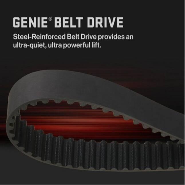 Genie StealthDrive Connect Ultra-Quiet belt drive