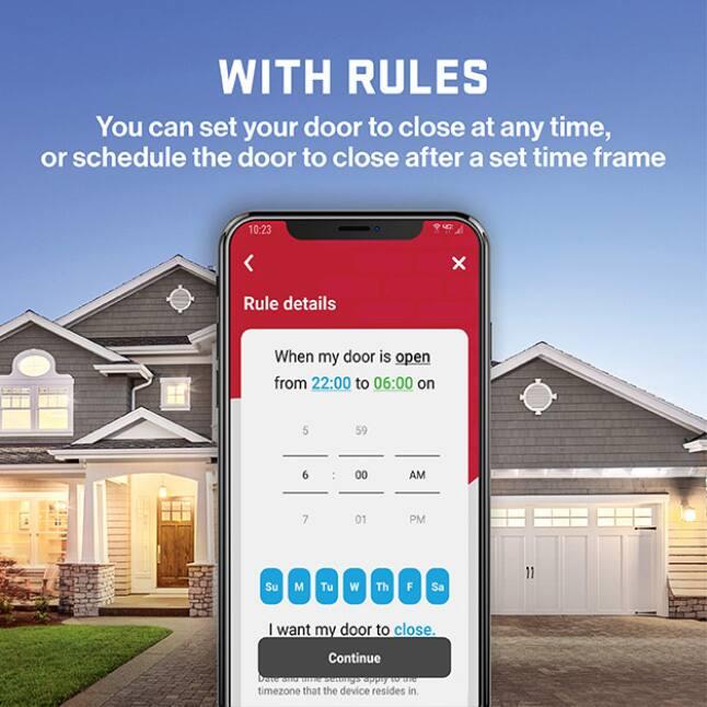 308708276 Genie StealthDrive Connect Smart Garage Door Opener Virtual Keys