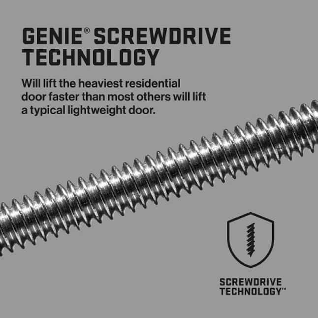 Genie MachForce Connect Screw Drive Garage Door Opener