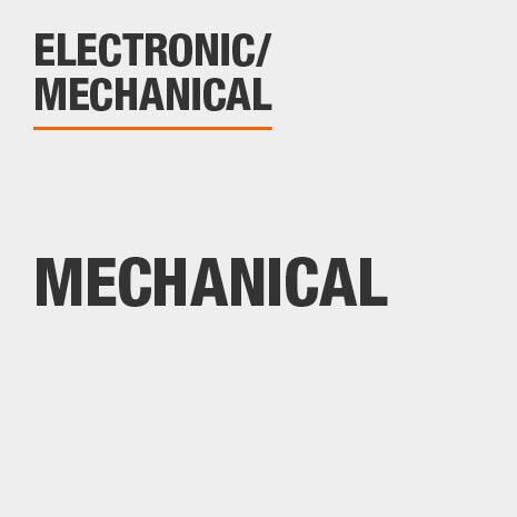 Electronic/Mechanical is Mechanical