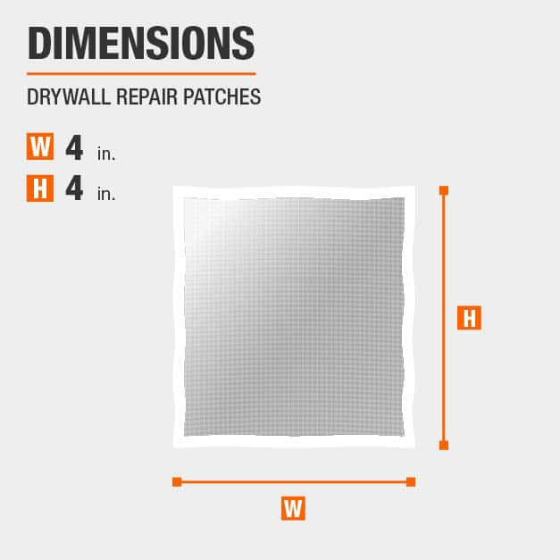 Drywall Repair Patches Drywall Tool Dimensions