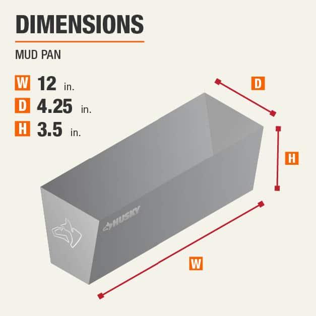 Mud Pan Drywall Tool Dimensions