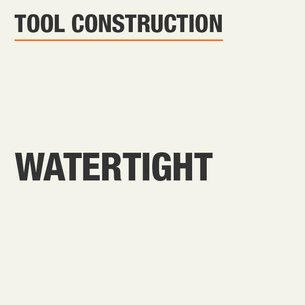 Tool Construction Watertight