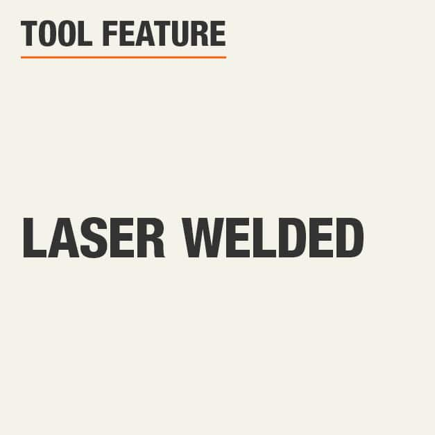 Tool Feature Laser Welded