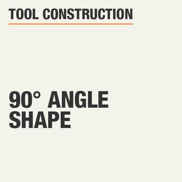 Tool Construction 90° Angle Shape