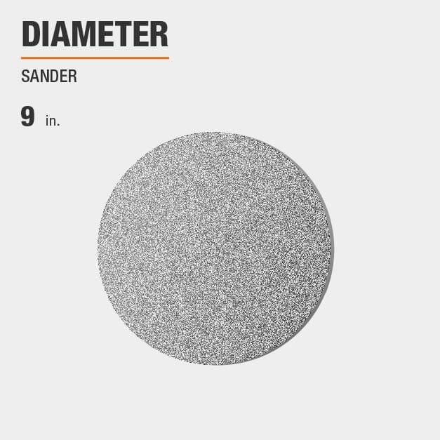 Sander Drywall Tool Dimensions