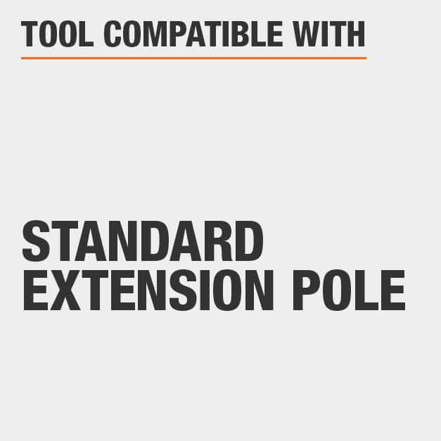 Tool Compatible with Standard Extension Pole