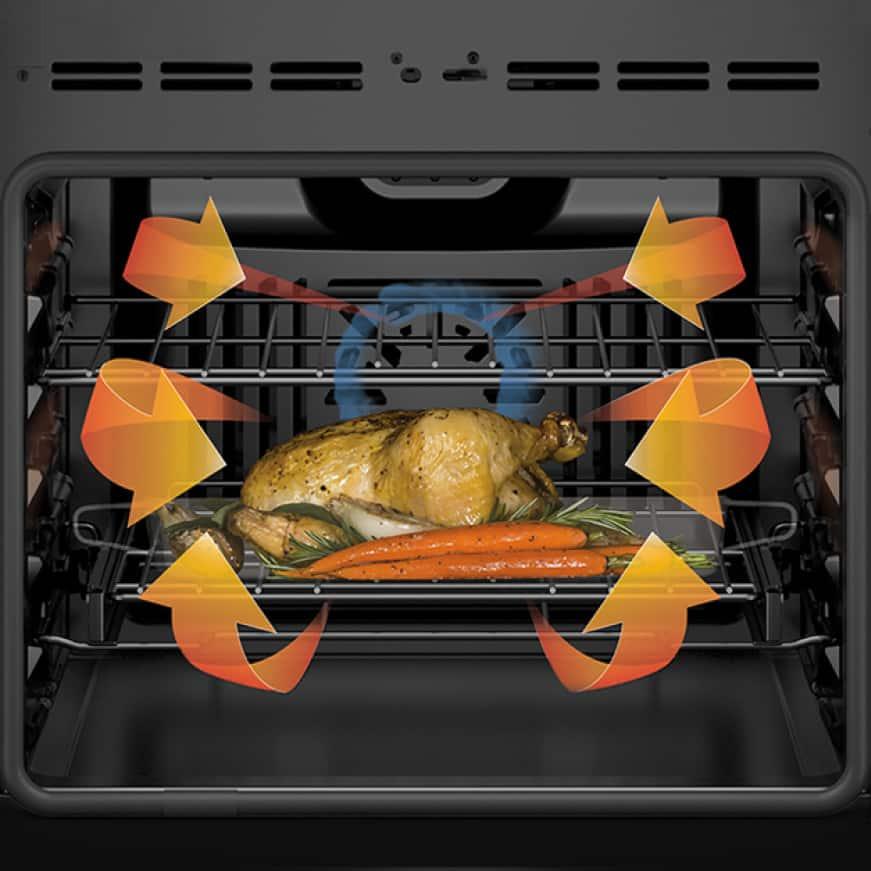 Bosch 3-Door Black Stainless Steel Quality Refrigerator B36CT80SNB