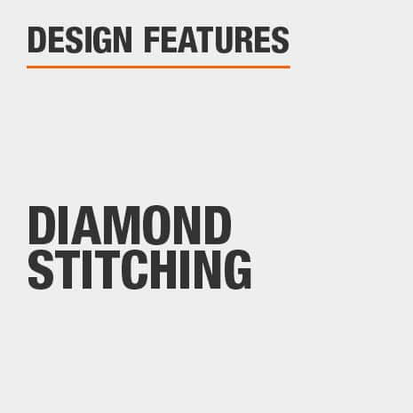 Upholstered Dining Chair Set with Diamond Stitching