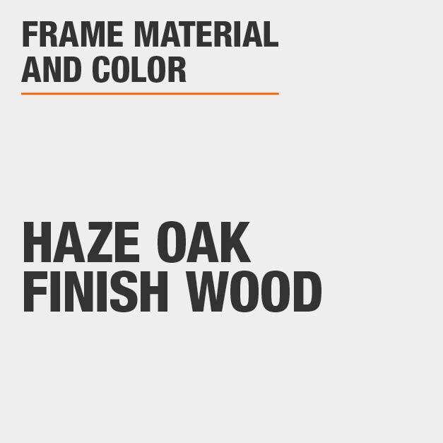 Upholstered Bar Stool with Haze Oak Finish Wood Frame