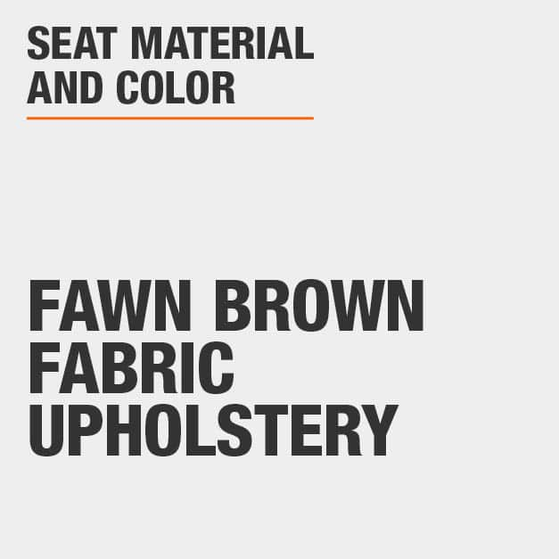 Collection with Fawn Brown Fabric Upholstery