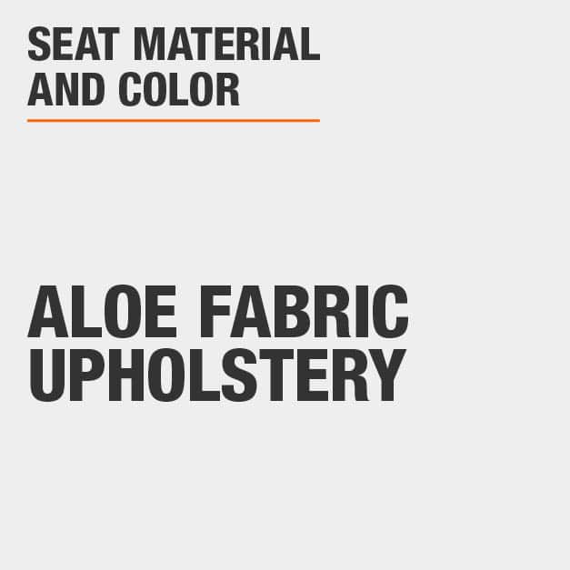 Collection with Aloe Fabric Upholstery