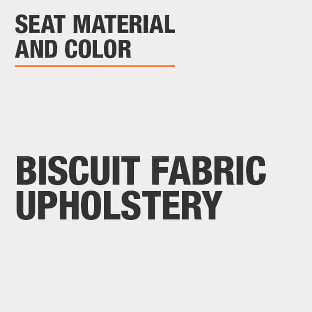 Collection with Biscuit Fabric Upholstery