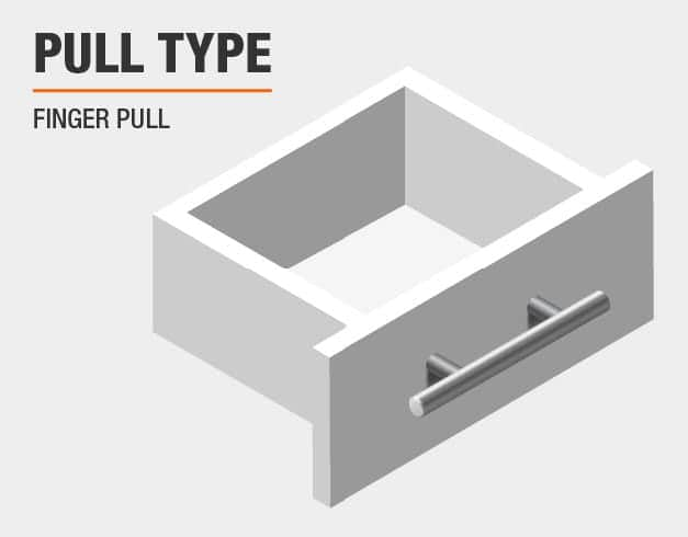 Pull Type is Handle/Bar Pull