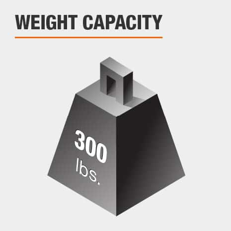 Weight Capacity 300 lbs.