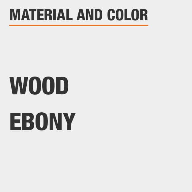 Ebony Wood Dining Chair Set