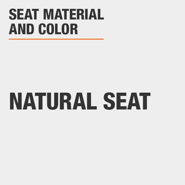 Blank with Natural Seat