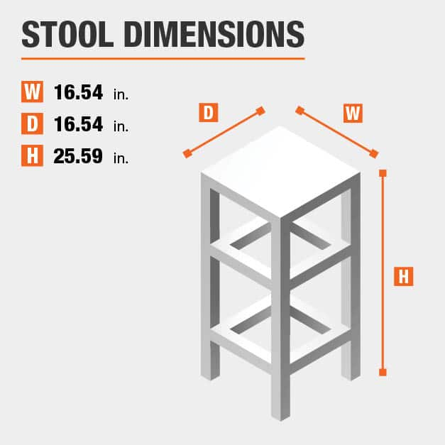 Counter Stool Dimensions