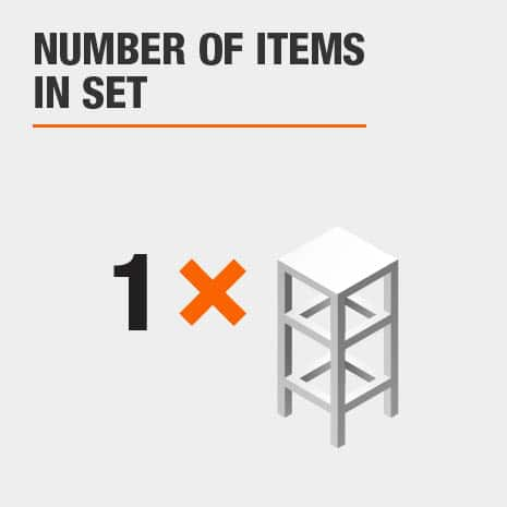 1 piece stool set