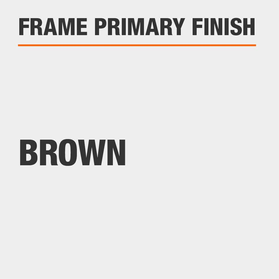 Frame Primary Finish Brown